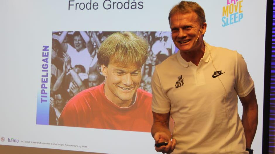 Frode Grodås. Foto: Thomas Bløndal/ www.fotball.no