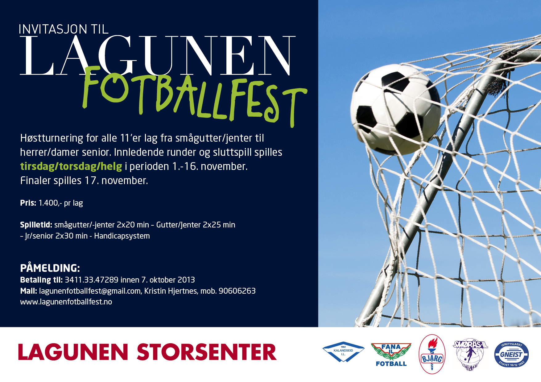 lagunen fotballfest